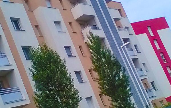 Parapetto di un condominio